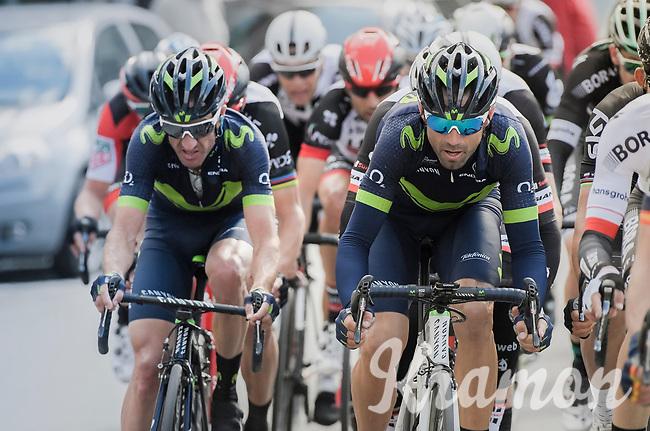 Alejandro Valverde (ESP/Movistar)<br /> <br /> 81st La Fl&egrave;che Wallonne (1.UWT)<br /> One Day Race: Binche &rsaquo; Huy (200.5km)