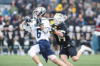 Washington, DC - February 23, 2019: Georgetown Hoyas Lucas Wittenberg (6) shoots the ball during game between Towson and Georgetown at  Cooper Field in Washington, DC.   (Photo by Elliott Brown/Media Images International)