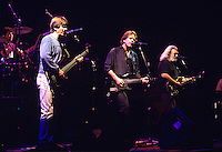"The Grateful Dead perform during a concert in Oakland.   The remaining members of the band will reunite for the final time for the ""Fare Thee Well"" concerts  over July 4th weekend in 2015."