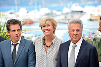 Ben Stiller, Emma Thompson &amp; Dustin Hoffman at the photocall for &quot;The Meyerowitz Stories&quot; at the 70th Festival de Cannes, Cannes, France. 21 May 2017<br /> Picture: Paul Smith/Featureflash/SilverHub 0208 004 5359 sales@silverhubmedia.com