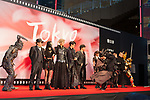 Movie Garo appears on the opening red carpet for The 30th Tokyo International Film Festival in Roppongi on October 25th, 2017, in Tokyo, Japan. The festival runs from October 25th to November 3rd at venues in Tokyo. (Photo by Michael Steinebach/AFLO)