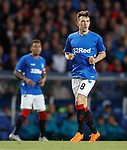 23.08.18 Rangers v Ufa: Ryan Jack second half with missing badges on his shirt