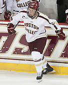 Patrick Brown (BC - 23) - The Boston College Eagles defeated the visiting University of Massachusetts Lowell River Hawks 6-3 on Sunday, October 28, 2012, at Kelley Rink in Conte Forum in Chestnut Hill, Massachusetts.