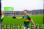 James O'Donoghue, Kerry players after defeating Tyrone in the All Ireland Semi Final at Croke Park on Sunday.