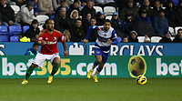 Wednesday 26 December 2012<br /> Pictured: Wayne Routledge (L).<br /> Re: Barclays Premier League, Reading v Swansea City FC at the Madejski Stadium, Reading, Berkshire.
