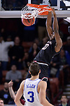GREENVILLE, SC - MARCH 19: Justin McKie (20) of the University of South Carolina dunks on Grayson Allen (3) of Duke University during the 2017 NCAA Men's Basketball Tournament held at Bon Secours Wellness Arena on March 19, 2017 in Greenville, South Carolina. (Photo by Grant Halverson/NCAA Photos via Getty Images)
