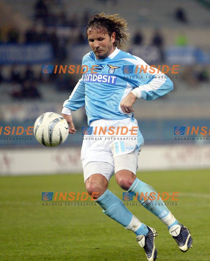 Roma 14/1/2004 - Coppa Italia<br /> Lazio Parma 2-0<br /> Sinisa Mihailovic (Lazio)<br /> Foto Andrea Staccioli Insidefoto