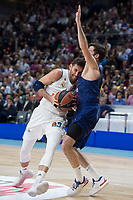 Real Madrid Rudy Fernandez and FC Barcelona Lassa Thomas Heurtel during Turkish Airlines Euroleague match between Real Madrid and FC Barcelona Lassa at Wizink Center in Madrid, Spain. December 14, 2017. (ALTERPHOTOS/Borja B.Hojas) /NortePhoto.com NORTEPHOTOMEXICO