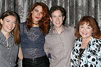 LOS ANGELES - AUG 20:  Courtney Grosbeck, Courtney Hope, Alex Wyse, Patrika Darbo at the Bold and the Beautiful Fan Event 2017 at the Marriott Burbank Convention Center on August 20, 2017 in Burbank, CA