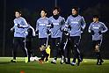 Football/Soccer: Japan training camp at Akitsu Soccer Stadium