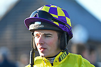 Jockey Micheal Nolan during Horse Racing at Plumpton Racecourse on 2nd December 2019