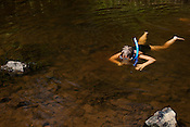 Emma Terry-Edmunds explores the depths of the Eno River in Durham.
