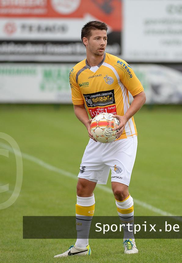 KSC Wielsbeke : Pieter De Winter <br /> foto VDB / BART VANDENBROUCKE