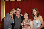 Michael Ersch (General Manager) of The Triad poses with The Divas - One Life To Live's Kathy Brier and Kassie DePaiva and All My Children's Bobbie Eakes performed in concert on August 14, 2011 at The Triad, New York City, New York followed by a photo opportunity and autographs. (Photo by Sue Coflin/Max Photos)