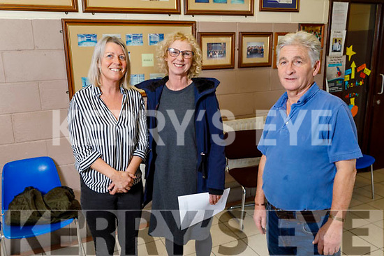 Cumann Iosaef Community Cetre in Tralee on Tuesday. <br /> Front James Hussey.<br /> Back Michelle Walmsley and Cathy Scanlon.