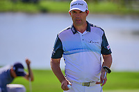 Padraig Harrington (IRL) after sinking his putt on 9 during round 2 of the Honda Classic, PGA National, Palm Beach Gardens, West Palm Beach, Florida, USA. 2/24/2017.<br /> Picture: Golffile | Ken Murray<br /> <br /> <br /> All photo usage must carry mandatory copyright credit (&copy; Golffile | Ken Murray)