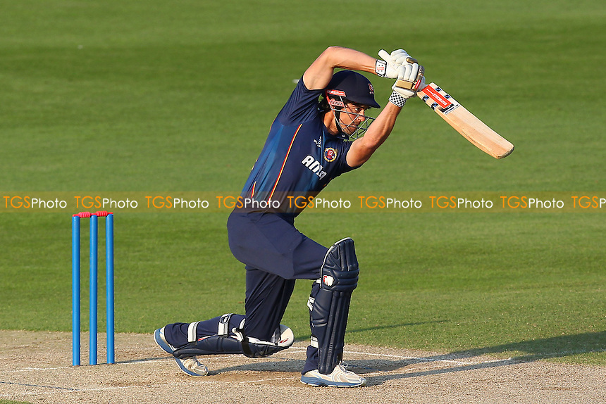 Alastair Cook of Essex in batting action - Essex Eagles vs Shepherd Neame Essex League XI - Twenty 20 Cricket at the Essex County Ground, Chelmsford - 15/05/14 - MANDATORY CREDIT: Gavin Ellis/TGSPHOTO - Self billing applies where appropriate - 0845 094 6026 - contact@tgsphoto.co.uk - NO UNPAID USE