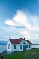 Lighthouse at Turn Point, Stuart Island, Washington, US
