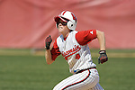 MADISON, WI - APRIL 16: Samantha Polito #4 of the Wisconsin Badgers softball team runs the bases against the Indiana Hoosiers at Goodman Diamond on April 16, 2007 in Madison, Wisconsin. (Photo by David Stluka)