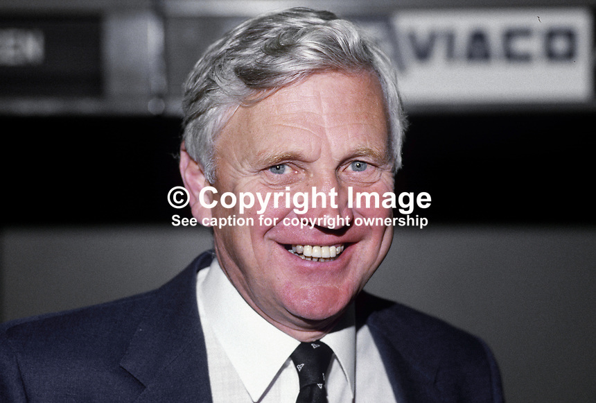Sir Desmond Lorimer, chairman, N Ireland Industrial Development Board, 19840086DL..Copyright Image from Victor Patterson, 54 Dorchester Park, Belfast, UK, BT9 6RJ..Tel: +44 28 9066 1296.Mob: +44 7802 353836.Voicemail +44 20 8816 7153.Skype: victorpattersonbelfast.Email: victorpatterson@me.com.Email: victorpatterson@ireland.com (back-up)..IMPORTANT: If you wish to use this image or any other of my images please go to www.victorpatterson.com and click on the Terms & Conditions. Then contact me by email or phone with the reference number(s) of the image(s) concerned.