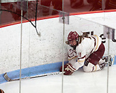 Caitrin Lonergan (BC - 11) -  The Boston College Eagles defeated the University of Vermont Catamounts 4-3 in double overtime in their Hockey East semi-final on Saturday, March 4, 2017, at Walter Brown Arena in Boston, Massachusetts.