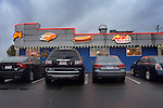 Skooter's Roadside diner neon. Windsor Locks, CT.