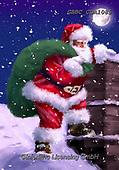 Barry, CHRISTMAS SANTA, SNOWMAN, WEIHNACHTSMÄNNER, SCHNEEMÄNNER, PAPÁ NOEL, MUÑECOS DE NIEVE, paintings+++++,GBBCCDA1085,#x#