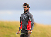 Mark Morrissey (Co. Sligo) on the 14th green during the Connacht Final of the AIG Barton Shield at Galway Bay Golf Club, Galway, Co Galway. 11/08/2017<br /> <br /> Picture: Golffile | Thos Caffrey<br /> <br /> <br /> All photo usage must carry mandatory copyright credit     (&copy; Golffile | Thos Caffrey)