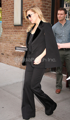 NEW YORK, NY - MAY 12:   Kate Hudson spotted leaving her hotel in New York,  New York on May 12, 2016. Photo Credit: Rainmaker Photo/MediaPunch