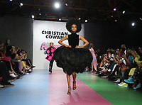 8 March 2019 - Los Angeles, California - Paris Hilton, Model. Christian Cowan x The Powerpuff Girls Runway Show at City Market Social House. Photo Credit: Faye Sadou/AdMedia