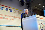 26.2.2015. ZWST JUgendkongress 2015, Berlin Hotel Leonardo Royal. Dr. Josef Schuster <br /> Präsident des Zentralrats der Juden in Deutschland