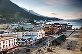 ALASKA, Ketchikan, a view of the town located right off the Port of Ketchikan