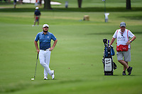 Tyrrell Hatton (ENG) waits to chip on 2 during round 4 of the 2019 Charles Schwab Challenge, Colonial Country Club, Ft. Worth, Texas,  USA. 5/26/2019.<br /> Picture: Golffile | Ken Murray<br /> <br /> All photo usage must carry mandatory copyright credit (© Golffile | Ken Murray)