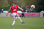 © Joel Goodman - 07973 332324 . 25/04/2015 . Salford , UK . Paul Linwood . Evostick League champions , Salford FC , play Osset Town , in Salford . Photo credit : Joel Goodman