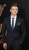 NEW YORK, NY-July 18: Chris Colfer at Fox Searchlight Pictures presents premiere of Absolutely Fabulous: The Movie  to talk about  Star Trek Beyond in New York. NY July 18, 2016. Credit:RW/MediaPunch