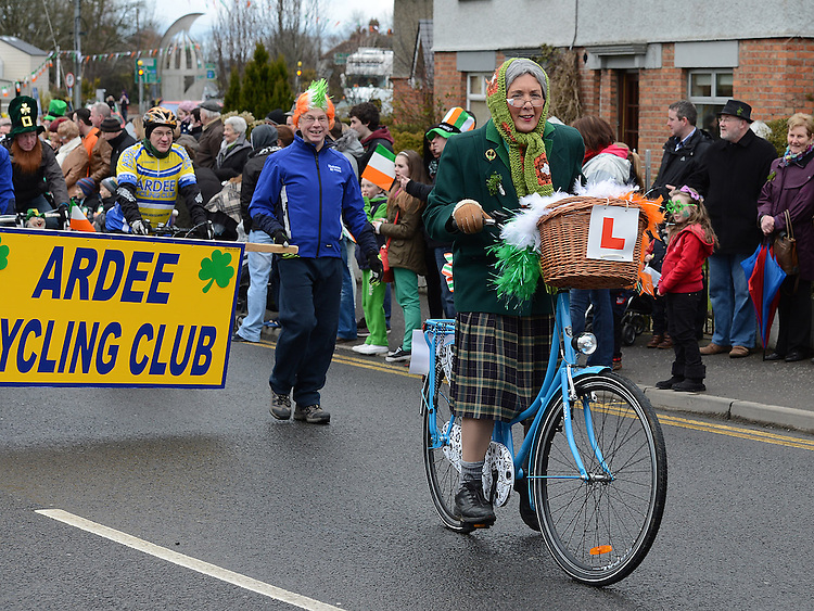 The Ardee St Patrick's day parade. Photo:Colin Bell/pressphotos.ie