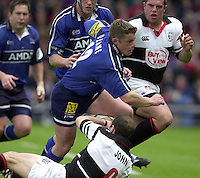 26/05/2002.Sport -Rugby Union - Parker Pen Shield Final.Sale vs Pontypridd..Mel Deane   [Mandatory Credit, Peter Spurier/ Intersport Images].