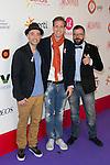 "Oscar Martinez, Jimeno and Fernando attends the ""POR ELLAS"" Concert of Cadena 100 at Barclaycard Center in Madrid, Spain. November 7, 2014. (ALTERPHOTOS/Carlos Dafonte)"