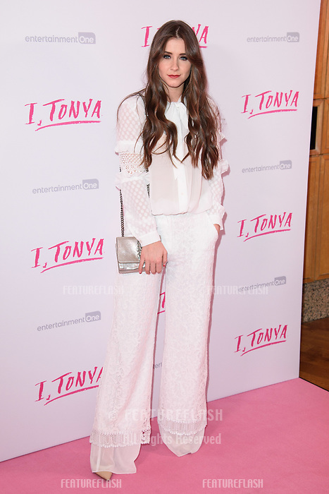 "Brooke Vincent at the ""I, Tonya"" premiere at the Curzon Mayfair, London, UK. <br /> 15 February  2018<br /> Picture: Steve Vas/Featureflash/SilverHub 0208 004 5359 sales@silverhubmedia.com"