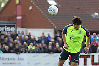 Ashley Palmer (Stockport County) during the Vanarama National League North match between Nuneaton Town and Stockport County at the Liberty Way Stadium, Nuneaton, England on 27 April 2019. Photo by James  Gill.