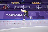 OLYMPIC GAMES: PYEONGCHANG: 11-02-2018, Gangneung Oval, Long Track, 5000m Men, Bart Swings (BEL), ©photo Martin de Jong