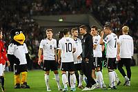 Deutsche Mannschaft feiert den Sieg - 04.09.2017: Deutschland vs. Norwegen, Mercedes Benz Arena Stuttgart