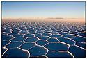 Bolivie<br /> Uyuni- D&eacute;sert de sel.