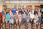 Darren Enright, Castleisland seated centre who celebrated his 21st birthday with his family and friends in the Crown Hotel, Castleisland on Saturday night..
