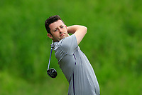 Liam Grehan on the 15th tee during Round 4 of the Connacht Stroke Play Championship 2019 at Portumna Golf Club, Portumna, Co. Galway, Ireland. 09/06/19<br /> <br /> Picture: Thos Caffrey / Golffile<br /> <br /> All photos usage must carry mandatory copyright credit (© Golffile | Thos Caffrey)