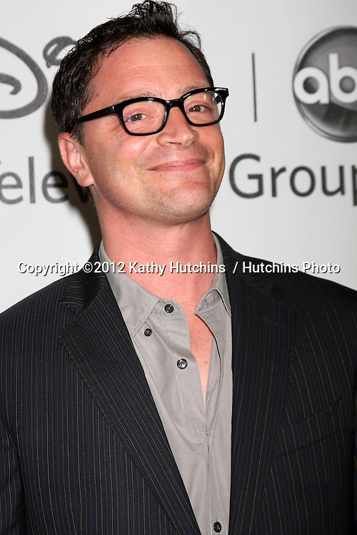 LOS ANGELES - JUL 27:  Josh Malina arrives at the ABC TCA Party Summer 2012 at Beverly Hilton Hotel on July 27, 2012 in Beverly Hills, CA