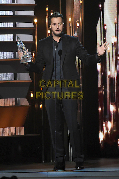 4 November 2015 - Nashville, Tennessee - Luke Bryan. 49th CMA Awards, Country Music's Biggest Night, held at Bridgestone Arena. <br /> CAP/ADM/LF<br /> &copy;LF/ADM/Capital Pictures