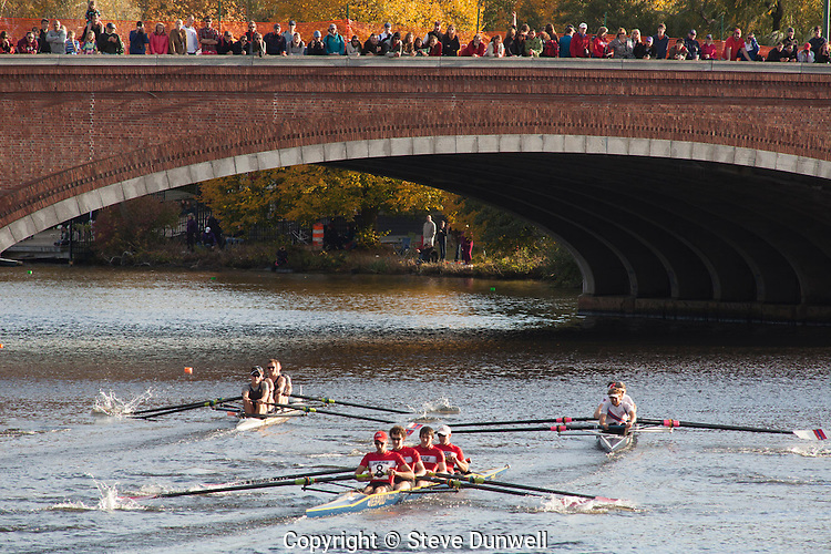 Men's fours, Head of the Charles race, rowing, Cambridge, MA