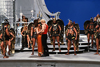 Flash Gordon (1980) <br /> Sam Jones, Melody Anderson, Brian Blessed &amp; Ted Carroll<br /> *Filmstill - Editorial Use Only*<br /> CAP/KFS<br /> Image supplied by Capital Pictures