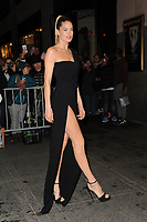 www.acepixs.com<br /> April 19, 2017 New York City<br /> <br /> Doutzen Kroes was seen arriving to the Harper's Bazaar 150th Anniversary celebration at the Rainbow Room on April 19, 2017 in New York City.<br /> <br /> Credit: Kristin Callahan/ACE Pictures<br /> <br /> Tel: (646) 769 0430<br /> e-mail: info@acepixs.com